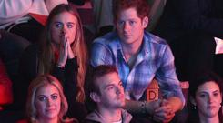 Cressida Bonas and Prince Harry attend We Day UK (Photo by Karwai Tang/WireImage)