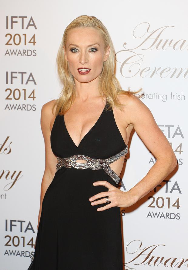 Victoria Smurfit attends the Irish Film And Television Awards