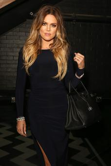 WEST HOLLYWOOD, CA - APRIL 04: TV personality Khloe Kardashian attends Christian Casey Combs' 16th birthday party at 1OAK on April 4, 2014 in West Hollywood, California. (Photo by Chelsea Lauren/Getty Images)