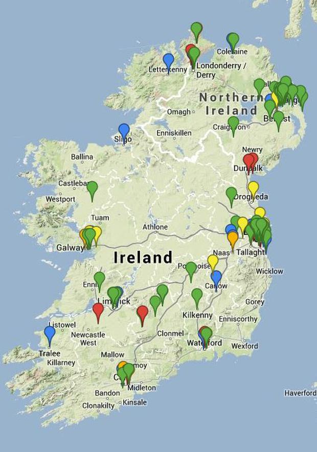 Games Industry In Ireland Developers Map Independent Ie