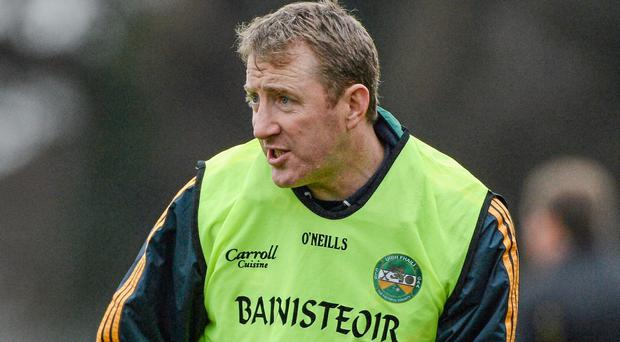 Offaly manager Brian Whelehan