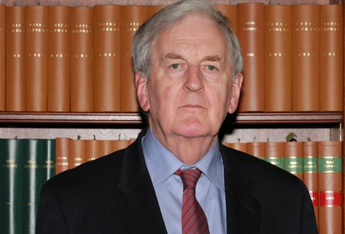 Mr Justice Nial Fennelly who was recently appointed to oversee the commission of inquiry into Garda phone recordings. Picture: Collins Courts