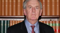 Mr Justice Nial Fennelly was recently appointed to oversee the commission of inquiry into Garda phone recordings. Picture: Collins Courts
