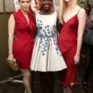 (L-R) Actors Kate Mara, Lupita Nyong'o and Elle Fanning attend Marie Claire Celebrates May Cover Stars