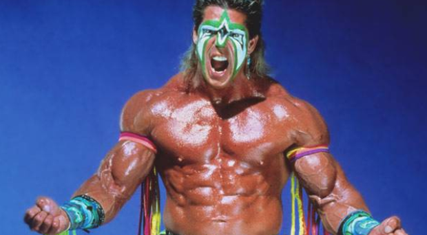 Ultimate Warrior: a wrestler who looked like he was from another planet (Picture: WWE)