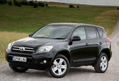 A number of Toyota Rav 4 models are being recalled over potential problems with the airbags.