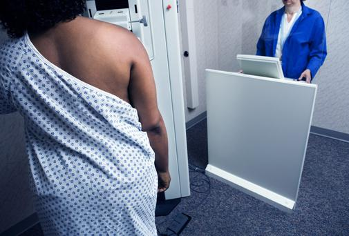 ONE in three women sent for urgent breast cancer screening in the north west was not seen within the two-week target.