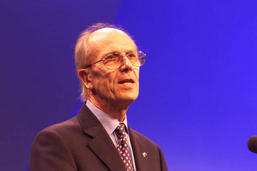 Norman Tebbit's 'jibe' at Martin McGuinness made headlines
