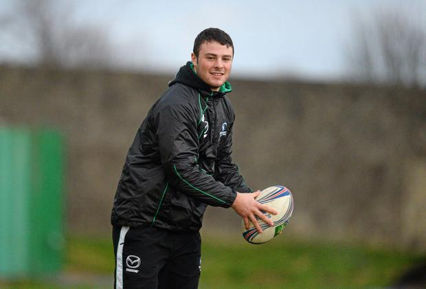 Connacht's Robbie Henshaw