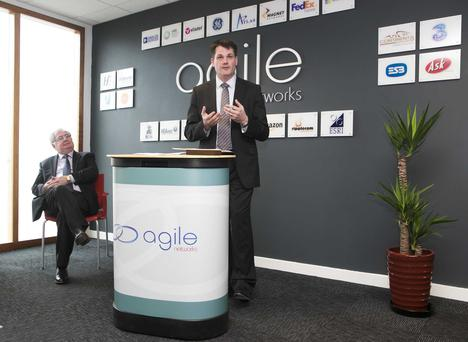 Irish-owned Agile Networks is doubling its workforce over the next eighteen months, creating 16 new full-time jobs in the technology sector
