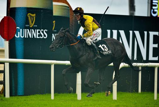 Missunited failed to keep pace on her return at Limerick