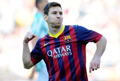 Lionel Messi could play at the Aviva with Barcelona