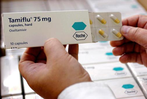 A packet of Tamiflu Anti-Flu Virus capsules. Photo: PA