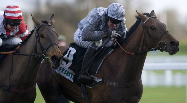 Barry Geraghty riding Nicky Henderson's Hadrian's Approach