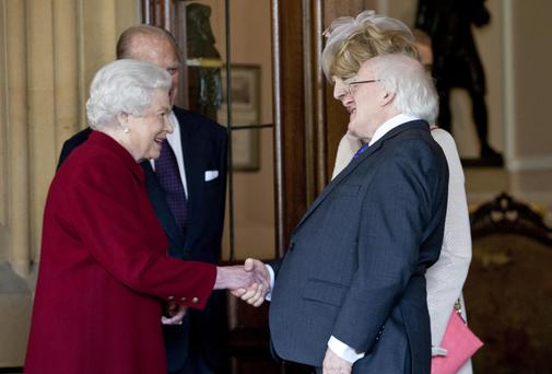 Michael D Higgins' state visit to the UK is thought to have helped boost the number of UK visitors coming to Ireland