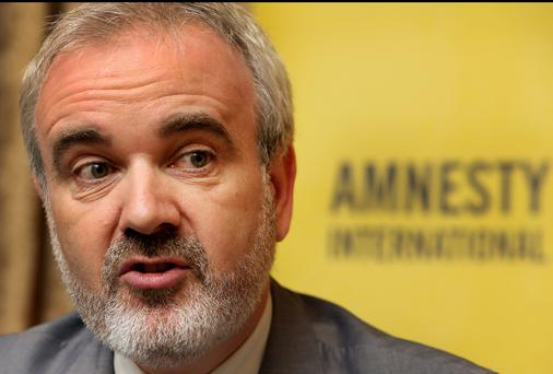 A motion will go before the annual conference of Amnesty International Ireland seeking to reduce the salary of its executive director Colm O'Gorman