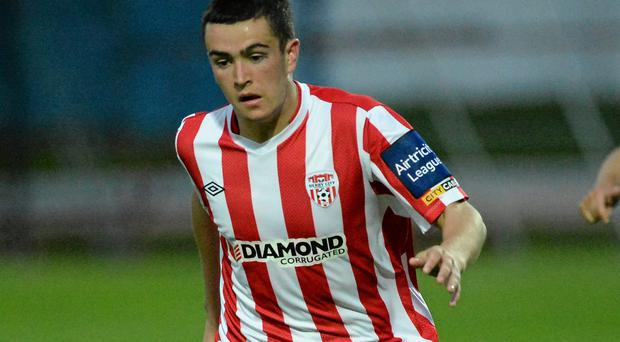 Michael Duffy's strike clinched the points for Derry City against Athlone Town