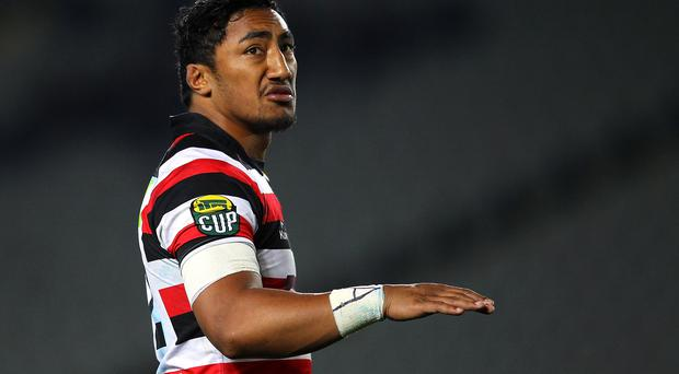 Bundee Aki in action for Counties Manukau.