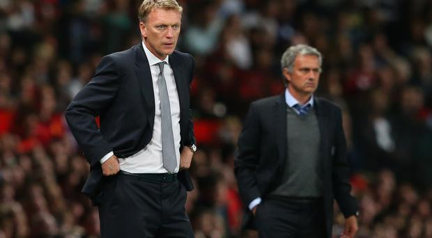 It has been a contrasting season for David Moyes and Jose Mourinho