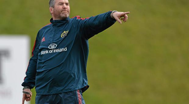 Anthony Foley is now stalking the training field like the head honcho, but Munster need to make early progress in finding a replacement for Simon Mannix