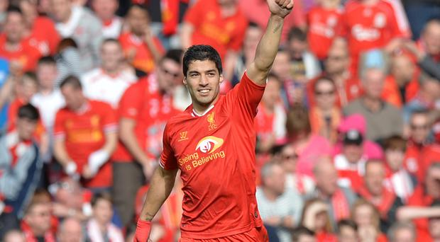 Luis Suarez has been central to Liverpool's title push