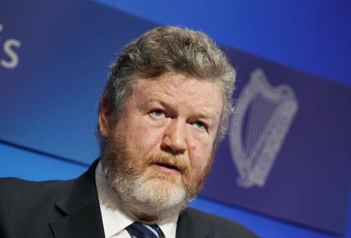 Minister for Children Dr James Reilly. Photo: Collins