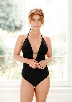 Coleen Rooney models her new summer swimwear collection for Littlewoods.com. Littlewoods/PA Wire