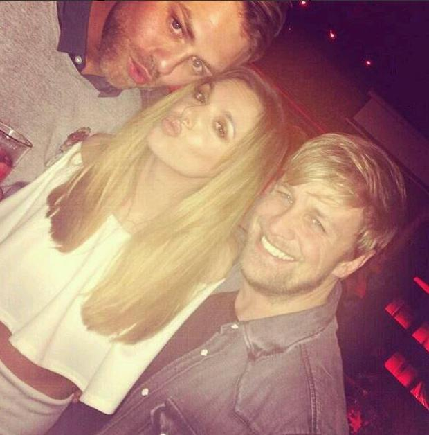 Brian, Jodi and Kian enjoy a night out on the town