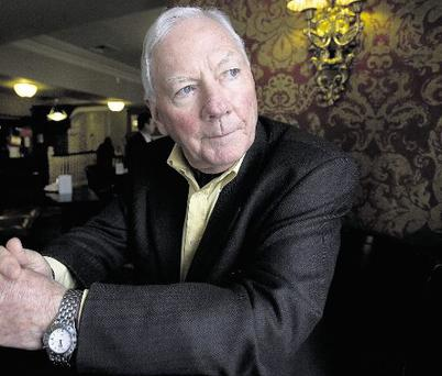 DISCOVERY: Gay Byrne learns the story of his father's involvement in The Great War in tonight's moving documentary