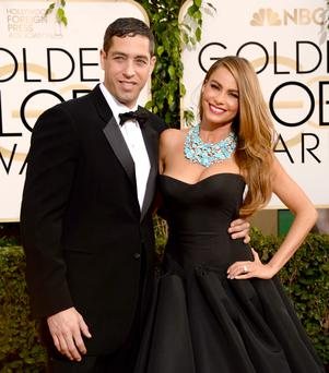 Nick Loeb and actress Sofia Vergara