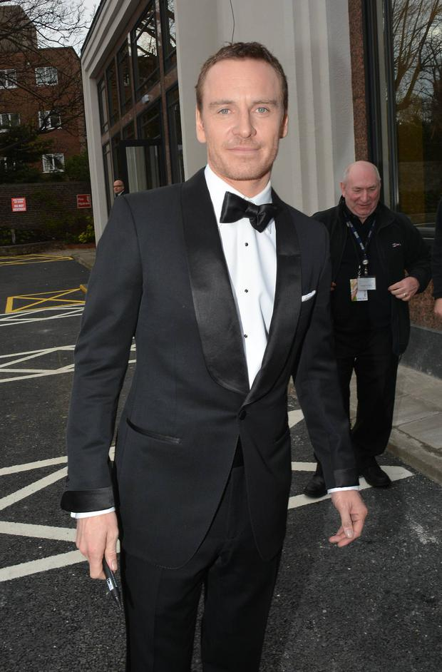 Michael Fassbender at the 2014 IFTAs
