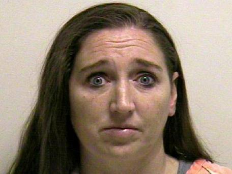 This photo provided by the Utah County jail shows Megan Huntsman is suspected of killing six of her newborn children over the past decade. Seven dead babies were found in a garage at a Pleasant Grove home where Huntsman lived up until 2011. Photo: AP