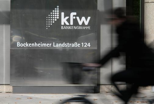 The Department of Finance has been in discussions with the German development bank KfW to provide funding to SMEs