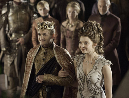 The Purple Wedding: Joffrey and Margaery Tyrell tie the knot