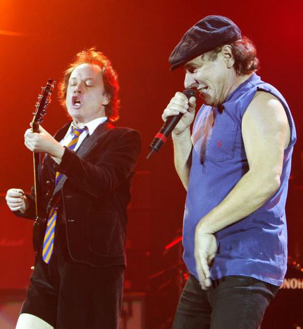 Ac/DC performing in 2003