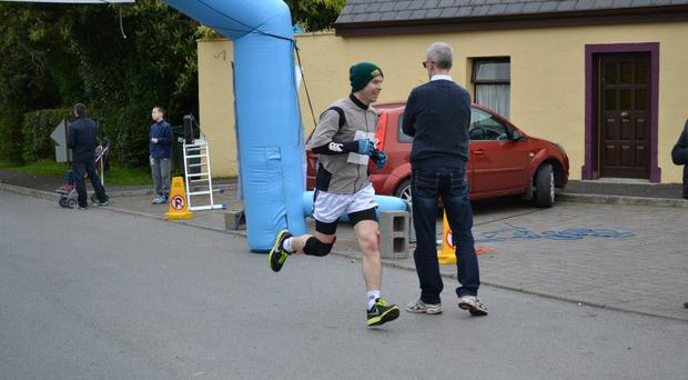 Alan finished ninth in the Narraghmore Duathlon last Saturday, a testament to his new-found fitness