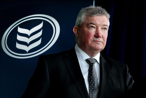 Richie Boucher, Bank of Ireland boss