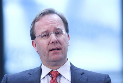 Anders Gustafsson, chief executive officer of Zebra Technologies Corp