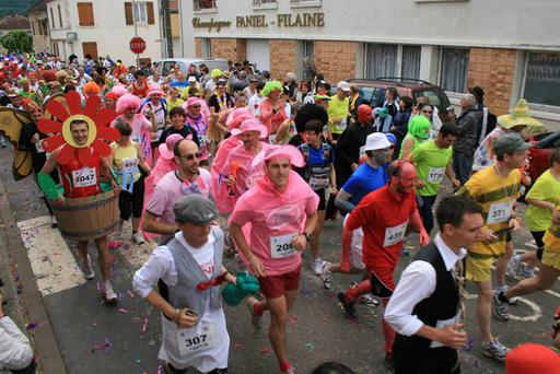 Some of the participants in La Champenoise race