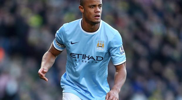 Captain Vincent Kompany is confident Manchester City have the players to combat in-form title rivals Liverpool
