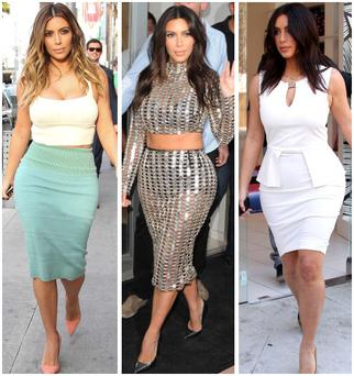 14 of Kim's most ridiculous daywear outfit choices