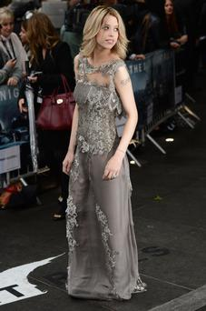"LONDON, ENGLAND - JULY 18: Peaches Geldof attends the European premiere of ""The Dark Knight Rises"" at Odeon Leicester Square on July 18, 2012 in London, England. (Photo by Ian Gavan/Getty Images)"