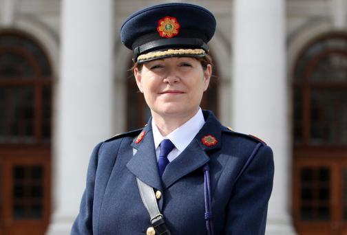 New Deputy Commissioner of An Garda Siochana Noirin O'Sullivan. Photo: Collins