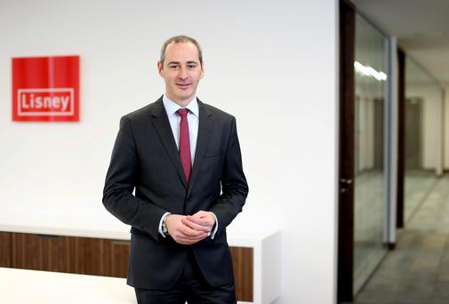 Lisney Managing Director James Nugent announced a number of promotions in the firm Picture: Jason Clarke Photography