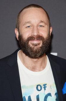 "Actor Chris O'Dowd attends the after party for the Broadway opening night for ""Of Mice and Men"" at The Plaza Hotel"