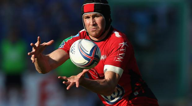 Toulon's Matt Giteau added the all-important kick nine minutes from time to help his side beat Bordeaux-Begles last weekend. Photo: David Rogers/Getty Images