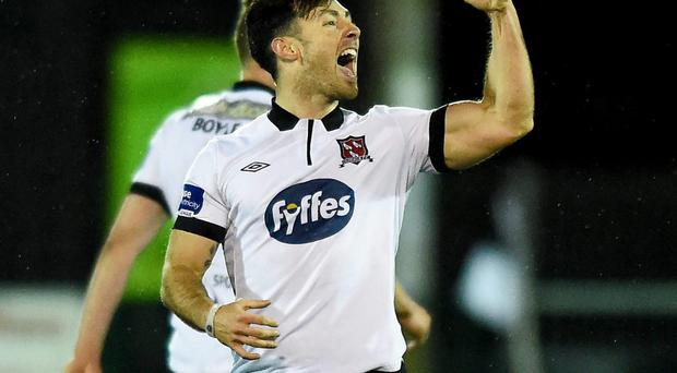 Dundalk star Richie Towell has attracted interest from Charlton and Barnsley. Photo: Paul Mohan / SPORTSFILE