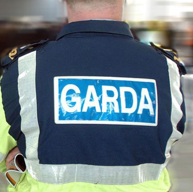 The car was observed by a passing garda patrol