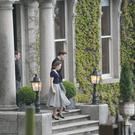 Saoirse Ronan at Cabinteely House. Picture: Mark Doyle