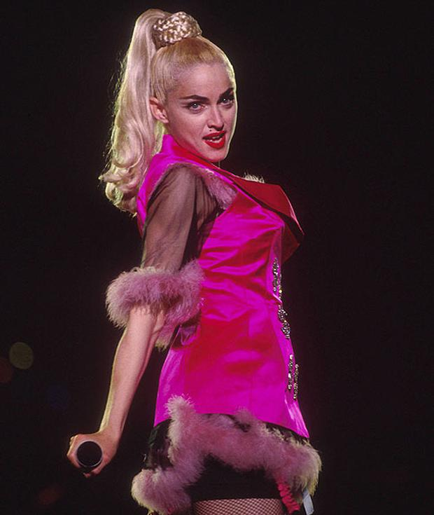 Many believed the line in Madonna's 'Like a Virgin touched for the very first time' was 'touched for the 31st time'